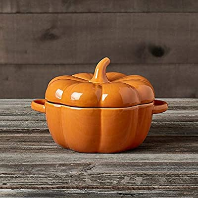 Modern Farmhouse Harvest 2.8 Liter Pumpkin Tureen in Orange