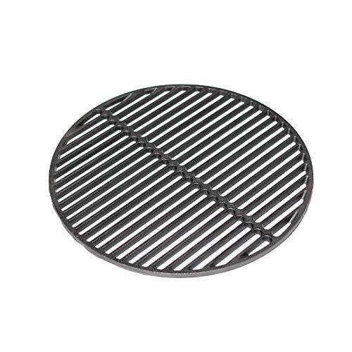 YNNI KAMADO TQZW21 Grille ronde en fonte pour barbecue 46,5 cm 5,7 kg