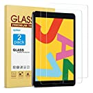 [2 Pack] Screen Protector Compatible with iPad 8th Generation 10.2 Inch (iPad 8), apiker Tempered Glass Screen Protector Compatible with Apple Pencil