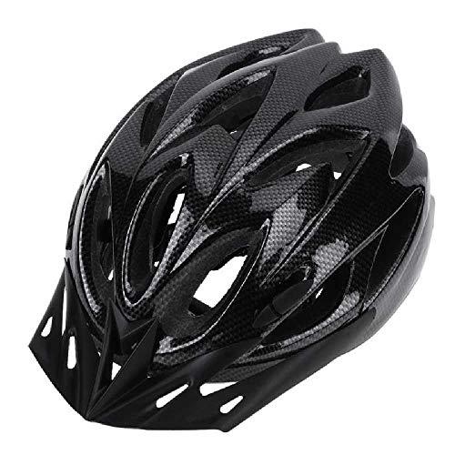 ying bao Casco Casco De Bicicleta Ultraligero con Rejillas De Ventilación.Casco De Bicicleta 23cmx18.5cm/ Negro