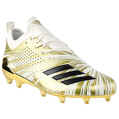 adidas 5-Star 7.0 Metallic Cleat - Men's Football 11.5 Gold Metallic/Core Black/White
