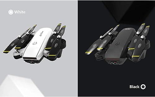 Sisit SG700-S 2,4 GHz 4CH Weißinkel-WLAN 4K HD Dual Camera Optischer Fluss RC Quadcopter Drohne Hover mit WLAN-Verbindung APP-Steuerung Palm-Geschwindigkeitsregelung ideal für Anf er (Schwarz