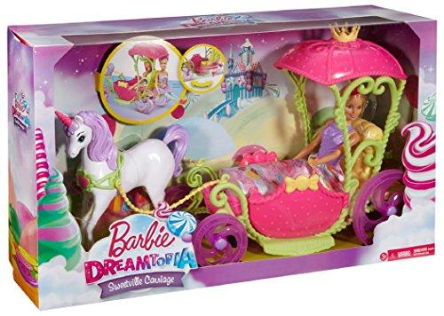Princesse Barbie et sa Calèche Licorne Dreamtopia - 9