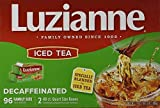 Luzianne Decaffeinated Iced Tea 96 Family Size Bags by Luzianne