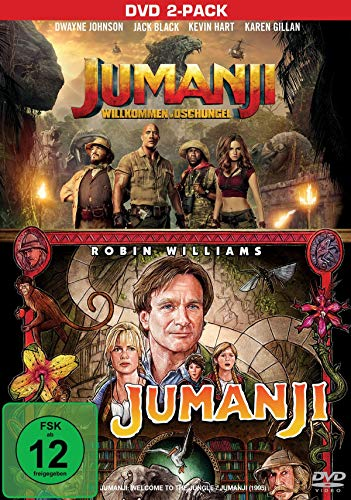 Jumanji & Jumanji - Willkommen im Dschungel [2 DVDs]