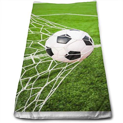 Toalla Deportiva Pelota Futbol golpeando goaToalla