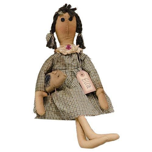 CWI Gifts Ella Doll, Multicolored