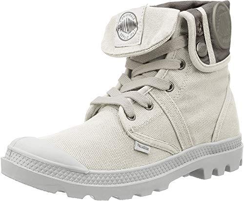 Palladium Damen Us Baggy W F Hohe Sneaker,Grau (Vapor/ Metal), 40