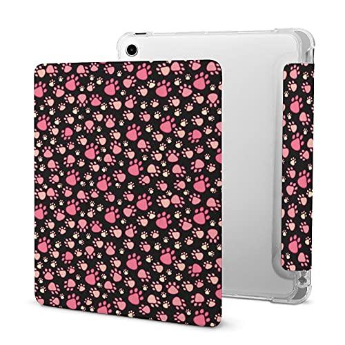 Patrón De Pata De Mascota Rosa Funda Protectora para Tableta iPad iPad 2020 Air 4 (10.9in)
