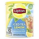 Lipton Iced Tea Mix, Lemon 10 qt