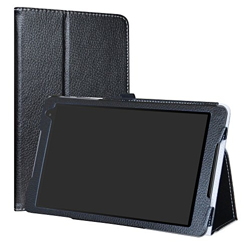 Labanema Alcatel A3 (10) 4G Hülle, Slim Fit Folio PU Leder dünne Kunstleder Schutzhülle Cover Schale Etui Tasche für 10.1