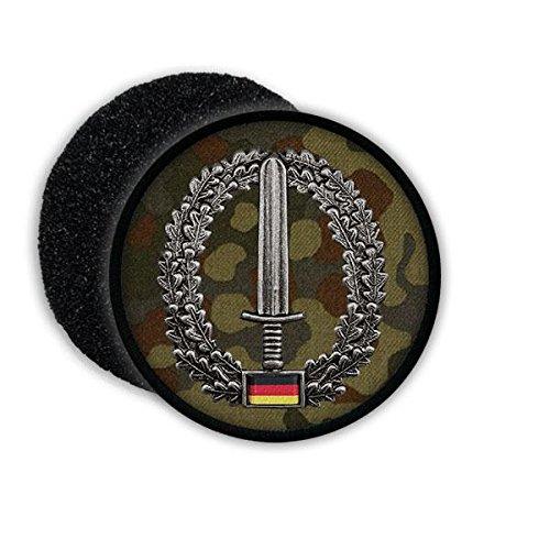 Copytec Patch BW Kommando Spezialkräfte KSK Barett Abzeichen Einheit Bundeswehr Patch Tarnung Schwert #20864