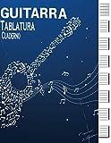 GUITARRA TABLATURA CUADERNO: 7 tabs por página. Ideal para músicos, estudiantes de guitarra | Guitarra Seis Cuerdas | (120 paginas) aprender y tocar acordes de guitarra para principiantes