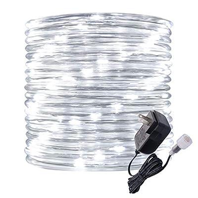 Rope Lights Outdoor, 16ft Daylight LED Mini Lig...