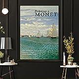 Matisse Monet Jardín De la Lona Galería Salon de Decoracion Agua Lirios Poster Vintage Abstracto Nat...