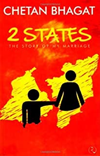 2 States The Story of My Marriage by Chetan Bhagat - Paperback
