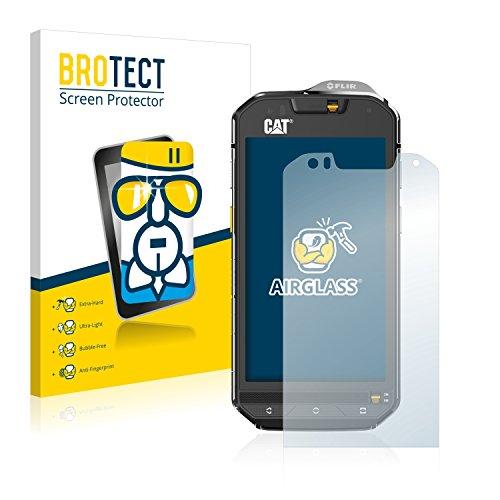 BROTECT Panzerglas Schutzfolie kompatibel mit Caterpillar Cat S60-9H Extrem Kratzfest, Anti-Fingerprint, Ultra-Transparent