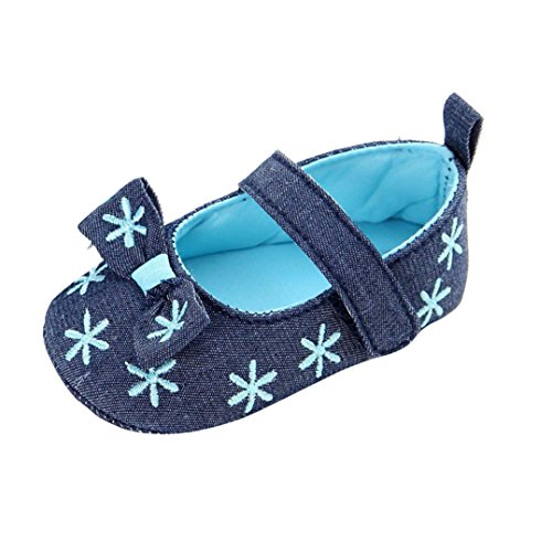 kingko® Bébé Infantile Enfants Fille Douce Sole Lit Enfant Nouveau-né Chaussures (6~12 Mois)