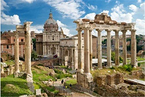 HCYEFG Rompecabezas Rompecabezas 1000 Piezas Puzzles Foro Romano En Roma Italia Puzzle DIY Art