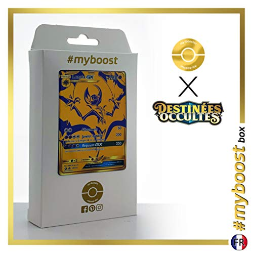Lunala-GX SM103A Shiny Gold - #myboost X Soleil & Lune 11.5 Destinées Occultes - Doos met 10 Franse Pokemon kaarten
