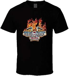 Men's Biker Mice from Mars Retro Cartoon Yourself Cool T Shirt Fashion Tee