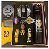 ZPR Caja de Regalo de la Estrella de la NBA, Bryant, James, Curry, Harden Star Model Gifts Hecho a Mano, el Mejor Modelo for los fanáticos Masculinos/Femeninos (Color : Lebron James, Size : H12cm)