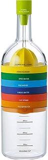Locisne 8 in 1 Kitchen Tool, Multipurpose Function Plastic Bin Bottle Essential Kitchen Cooking Tools Kitchen Gadget (funn...