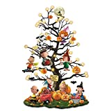 The Bradford Exchange Peanuts It's The Great Pumpkin Illuminated Halloween Tabletop Tree with Lights