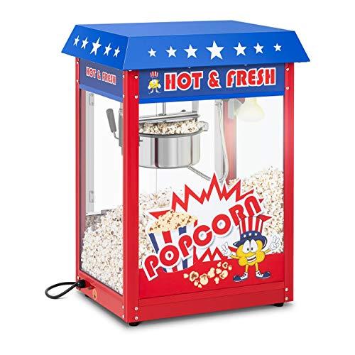 Royal Catering RCPR-16.1 Popcornmaschine Popcorn Maker Popcorn Bereiter Retro Vintage USA Design