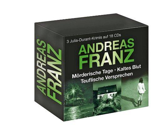 Andreas Franz: Mörderische Tage  / Kaltes Blut  / Teuflische Versprechen (Julia Durant Krimis)
