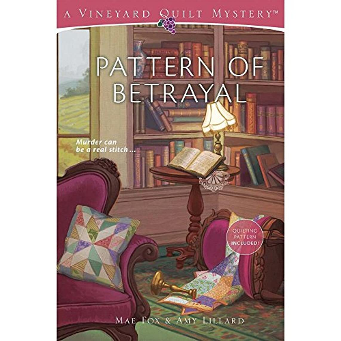 Pattern of Betrayal Quilting Book/Booklet