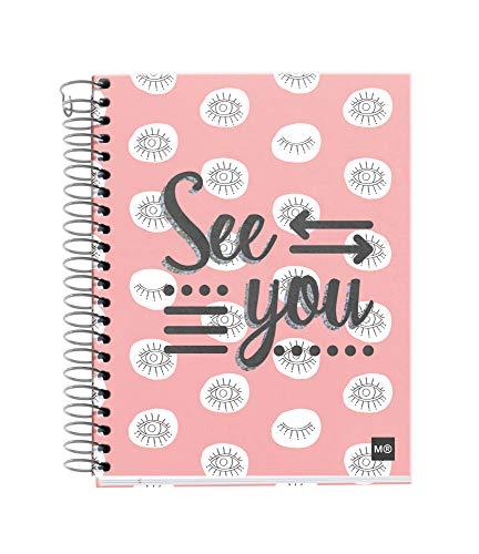 Miquelrius Cuaderno A6 cuadrícula 140 hojas See You
