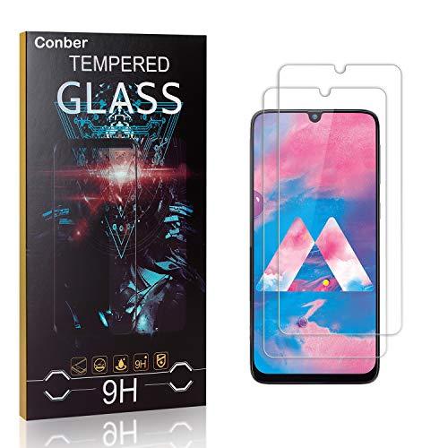 Conber [4 Pièces] Verre Trempé pour Samsung Galaxy J5 2017, Dureté 9H vitre de Protection, Compatible avec Coques, Film Protection Ecran pour Samsung Galaxy J5 2017
