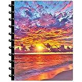 Tools4Wisdom Agenda 2021 personalizzabile – Ottobre 2020 – 2021 Dec – 15 mesi Discbound Disc Planner 2021 w/Full-Color Ricaricabile Mensile Giornaliero Pagine Agenda Mensile 8,5 x 11 – Q4Disc