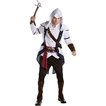 Disfraz Connor clásico Assassins creed adulto Única: Amazon.es ...