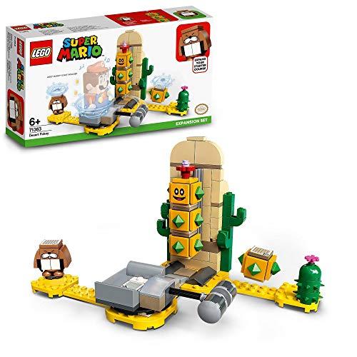 LEGO 71363 SuperMario SetdeExpansión:PokeydelDesierto, Juguete de Construcción