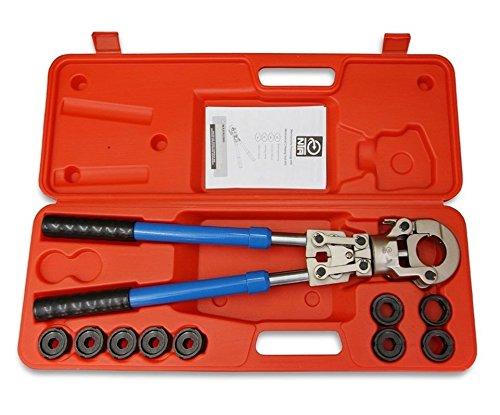 NTA Profi Presszange V-Kontur 12-28mm + G-Kontur 16-32mm Set Presswerkzeug Pressbacke
