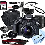Canon 2000D EOS (Rebel T7) DSLR Camera with 18-55mm f/3.5-5.6...