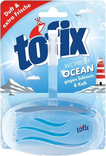 Tofix WC-Fresh Ocean Original (Korb inkl. WC-Stein) - 10x 1 Stück