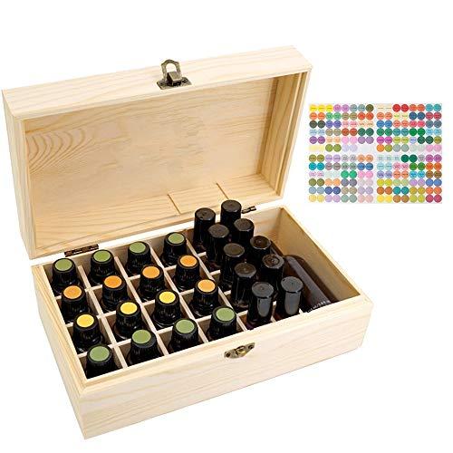 CHSEEO Caja de Aceites Esenciales para 36 Botellas Caja de Almacenamiento de Aceite Contenedor Estuche Organizadores para Cuentagotas, Aceite Esencial, CosméTica #2