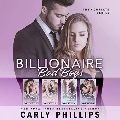 Billionaire Bad Boys Box Set: Books 1-4 cover art