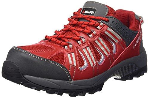 Bellota 72211R-45 S1P Zapatos, Rojo, 45