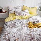 Bettbezug 140x 200,Bettwäsche Set Luxus 100% ägyptisch