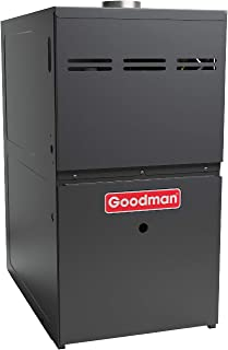 Goodman GMH80804BX Gas Furnace, Two-Stage Burner/Multi-Speed Blower, Upflow/Horizontal Low NOx - 80,000 BTU