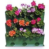 Fioriera per giardino verticale sul balcone