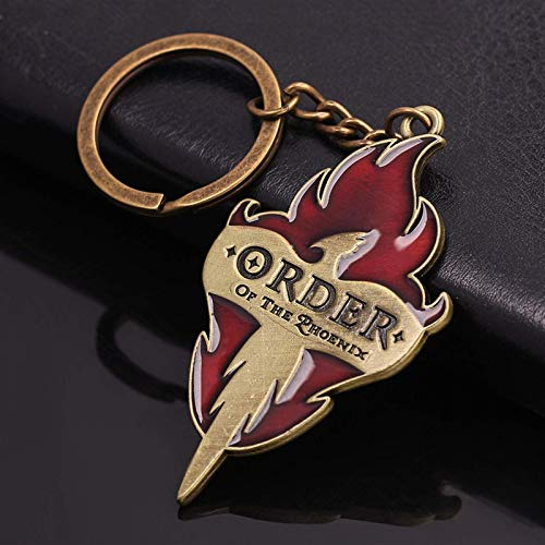 LKITYGF Perfect Key chain Express Platform Keychains Frog Red Flame Men Car Keyring Pin GIft (Color : Kc0813)