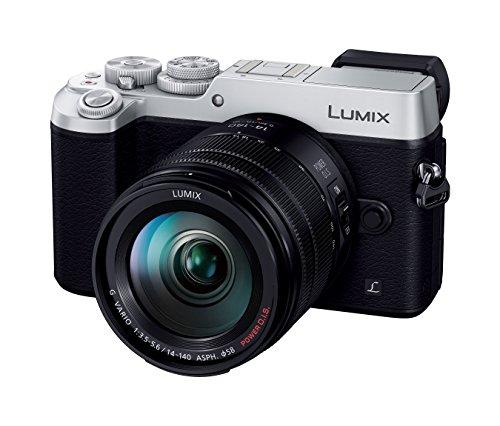 パナソニック ミラーレス一眼カメラ ルミックス GX8 レンズキット 高倍率ズームレンズ付属 2030万画素 シルバー DMC-GX8H-S