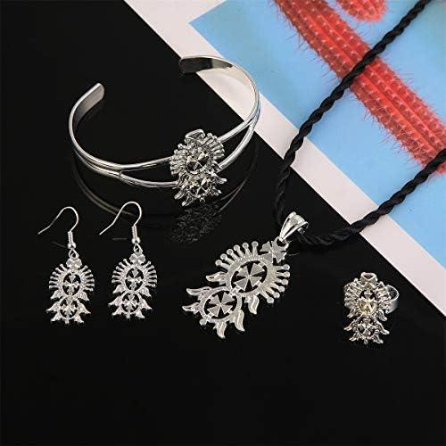 Ethiopian silver jewellery _image0