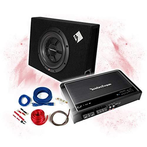 ROCKFORD FOSGATE - Amplificador de 2 canales + subwoofer de 25 cm...