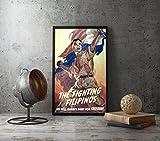 The Fighting Filipinos Propaganda Poster, Size 8.3x11.7 inches - AmericanWW2PropagandaPoster - Philipino Filipino